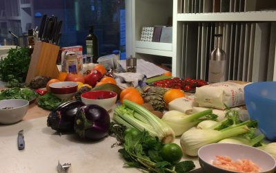 Kochevent (gemeinsam echte italienische Pizza backen)