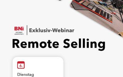 "Exklusiv-Webinar ""Remote Selling"""